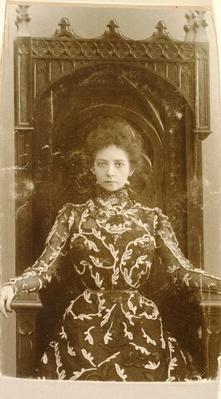 Portrait of the actress Vera Komissarzhevskaya