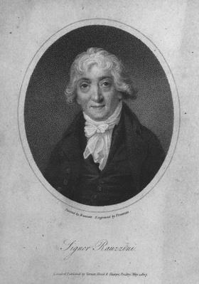 Portrait of Venanzio Rauzzini