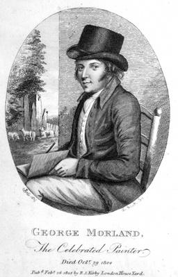 George Morland, engraved by G.Scott, 1805