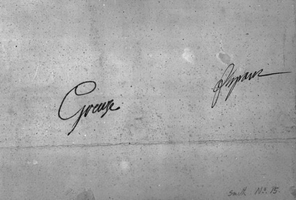 Jean-Baptiste Greuze's signature