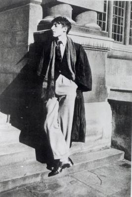 Louis MacNeice during his time at Oxford, 1926-30
