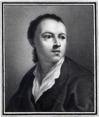 Anton Raphael Mengs, engraved by Nicolaus Mosman