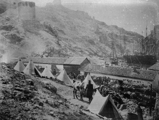 The Port at Balaklava during the Crimean War, c.1855