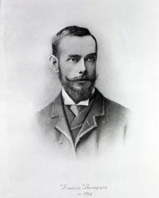 Francis Thompson, engraved by Emery Walker, 1894