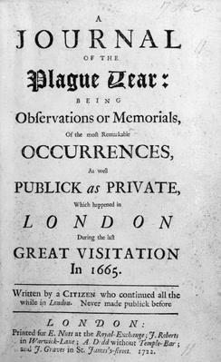 A Journal of the Plague Year, 1665