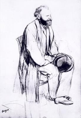 Study for a portrait of Manet