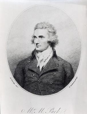 Mungo Park, engraved by T. Dickinson