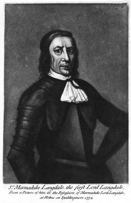 Sir Marmaduke Langdale, 1st Lord Langdale, c.1774