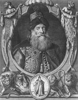 Peter John Potemkin, engraved by R. White