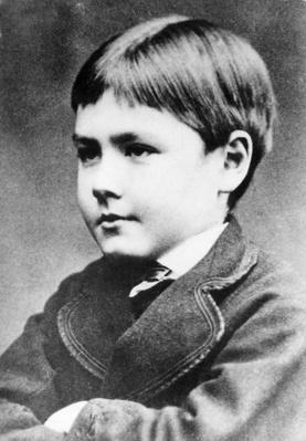 Rudyard Kipling, c.1870