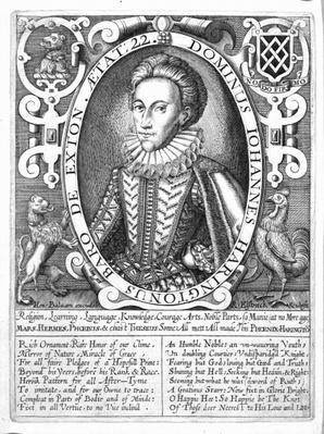 John Harington, 2nd Baron Harington of Exton, engraved by Renold Elstrack, c.1610-14