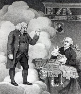 Boswell and the Ghost of Samuel Johnson, published in 1803
