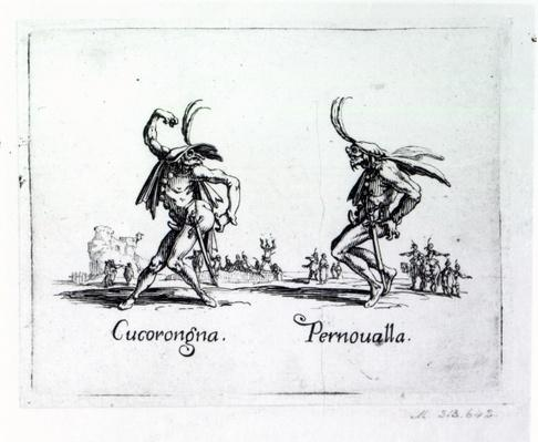 Balli de Sfessania, c.1622