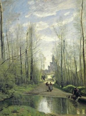 The Church at Marissel, 1866