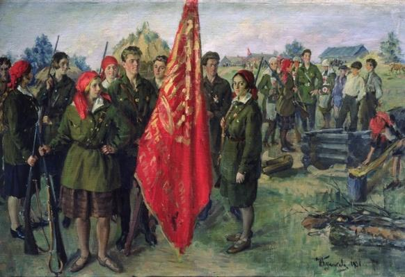 Militarised Komsomol, 1930