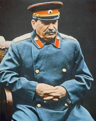 Stalin at the Yalta Conference, February 1945