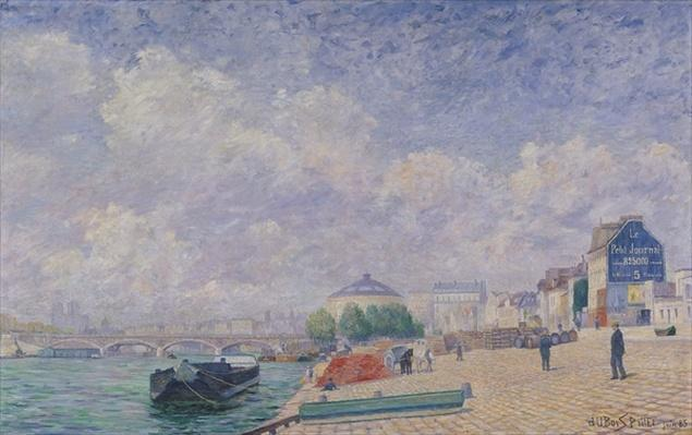 The Seine at Bercy, 1885