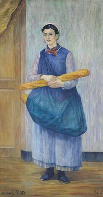 Lady Carrying Bread, 1889