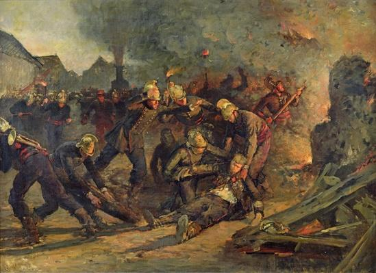 Death of Lt. Col. Froidevaux