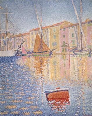 The Red Buoy, Saint Tropez, 1895