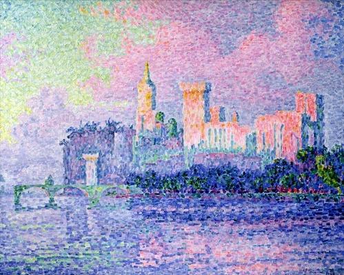 The Chateau des Papes, Avignon, 1900