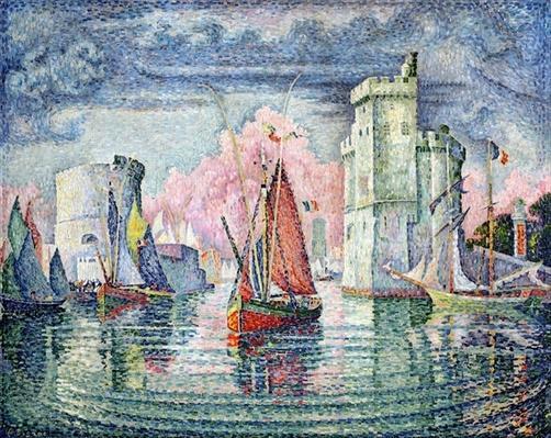 The Port at La Rochelle, 1921