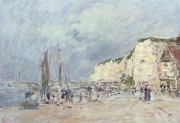 The Cliffs at Dieppe and the 'Petit Paris'