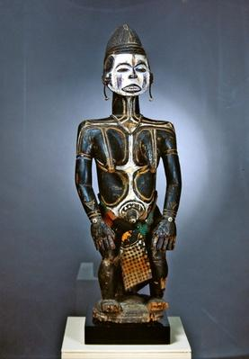 Female statue, Idoma