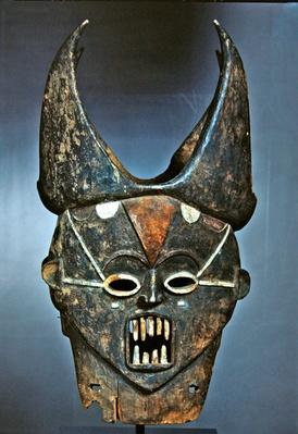 Mask of Janus, Ibo or Igala