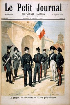 The Centenary of the Ecole Polytechnique, from the front page of the illustrated supplement of 'Le Petit Journal, 2nd April 1894