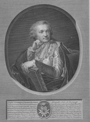 Count Stroganov, engraved by Ignaz Sebastian Klauber, 1802