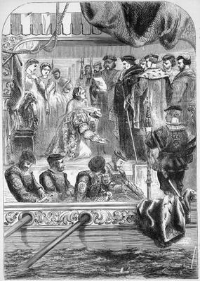 The Arrest of Anne Boleyn