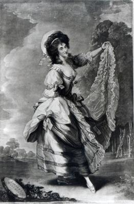 Giovanna Baccelli, engraved by John Jones