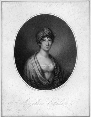 Angelica Catalani, engraved by Antoine Cardon