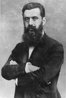 Theodor Herzl, 1903