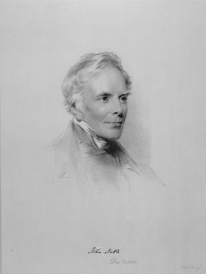 John Keble, engraved by William Holl Jr after a drawing of 1863