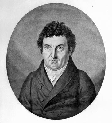 Johann Gottlieb Fichte, engraved by Johann Friedrich Jugel after a painting of 1808