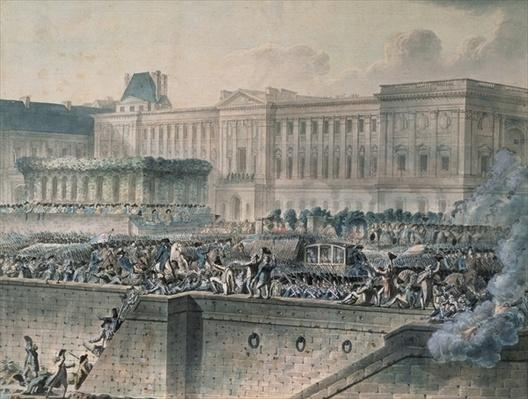 The Arrival of Louis XVI