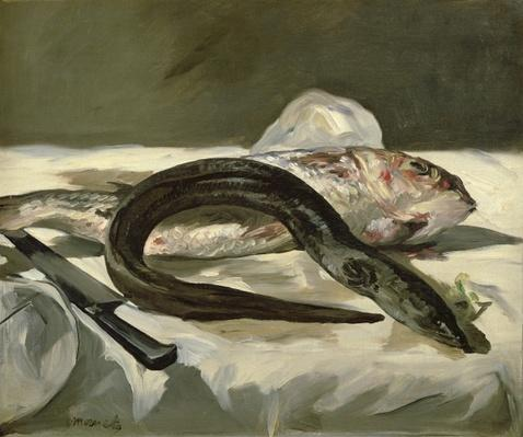 Eel and Red Mullet, 1864