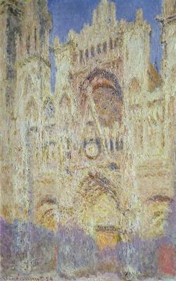 Rouen Cathedral at Sunset, 1894
