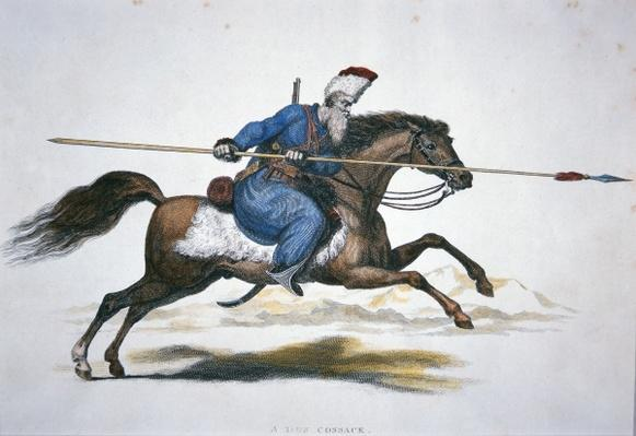 Russian Don Cossack, c.1820
