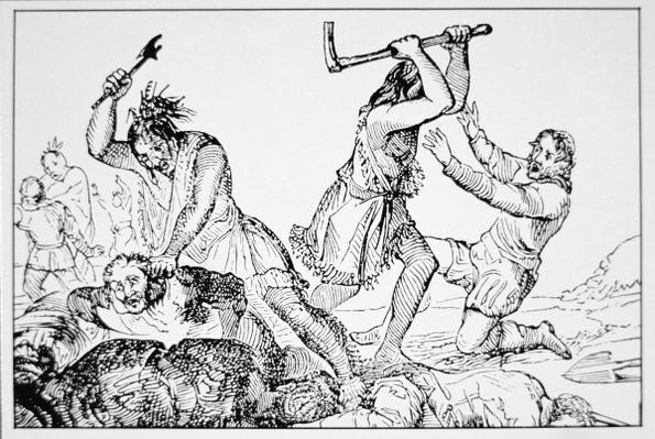 The Deerfield Massacre of 1704