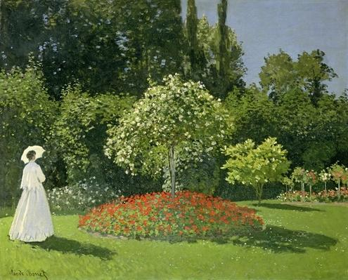 Jeanne Marie Lecadre in the Garden, 1866
