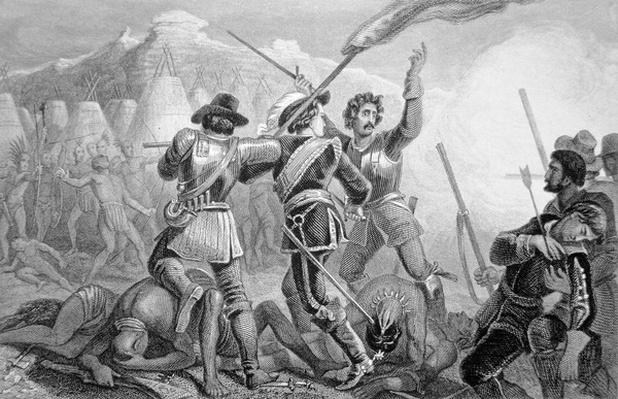 The Pequot War of 1637