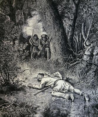 The death of Metacomet