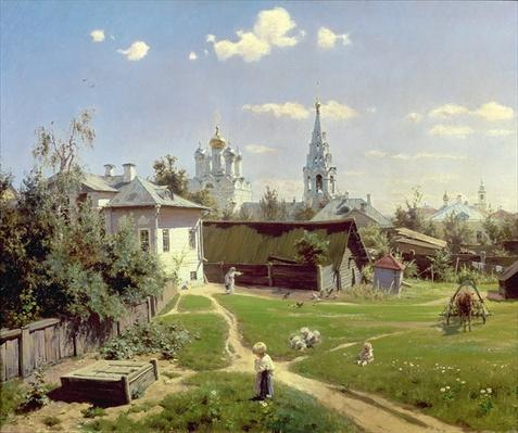 A Small Yard in Moscow, 1878