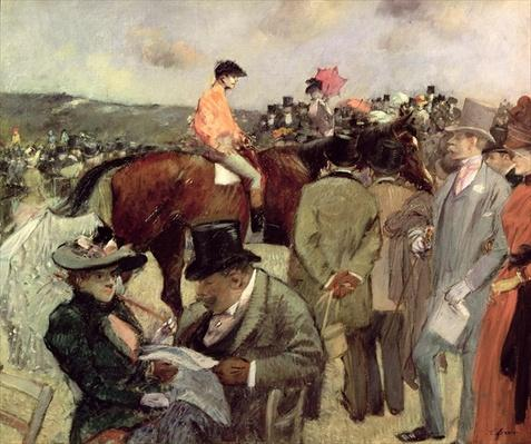 The Horse-Race, c.1890