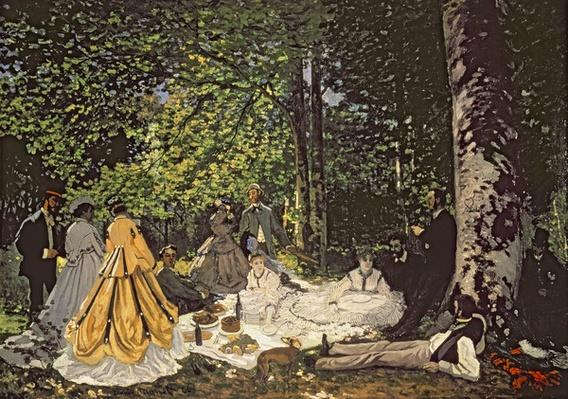 Le Dejeuner sur l'Herbe, 1865-1866