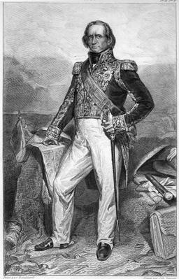 Portrait of Nicolas Jean-de-Dieu Soult