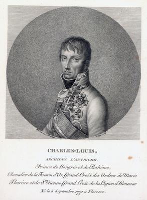 Archduke Charles of Austria, Duke of Teschen, c.1814